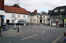 Whitchurch, Town Centre, Hampshire © Dr Neil Clifton